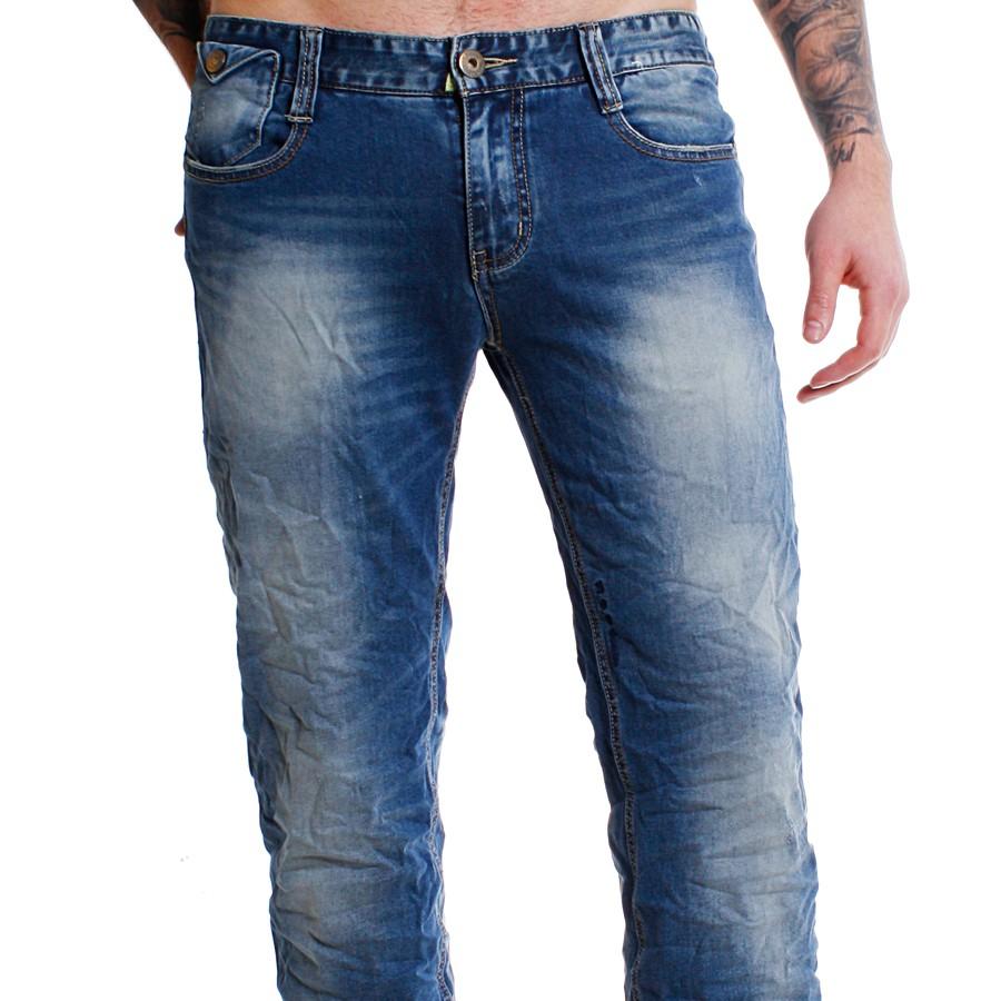 m o d denim herren jeans hose joshua blau mod boron blue. Black Bedroom Furniture Sets. Home Design Ideas