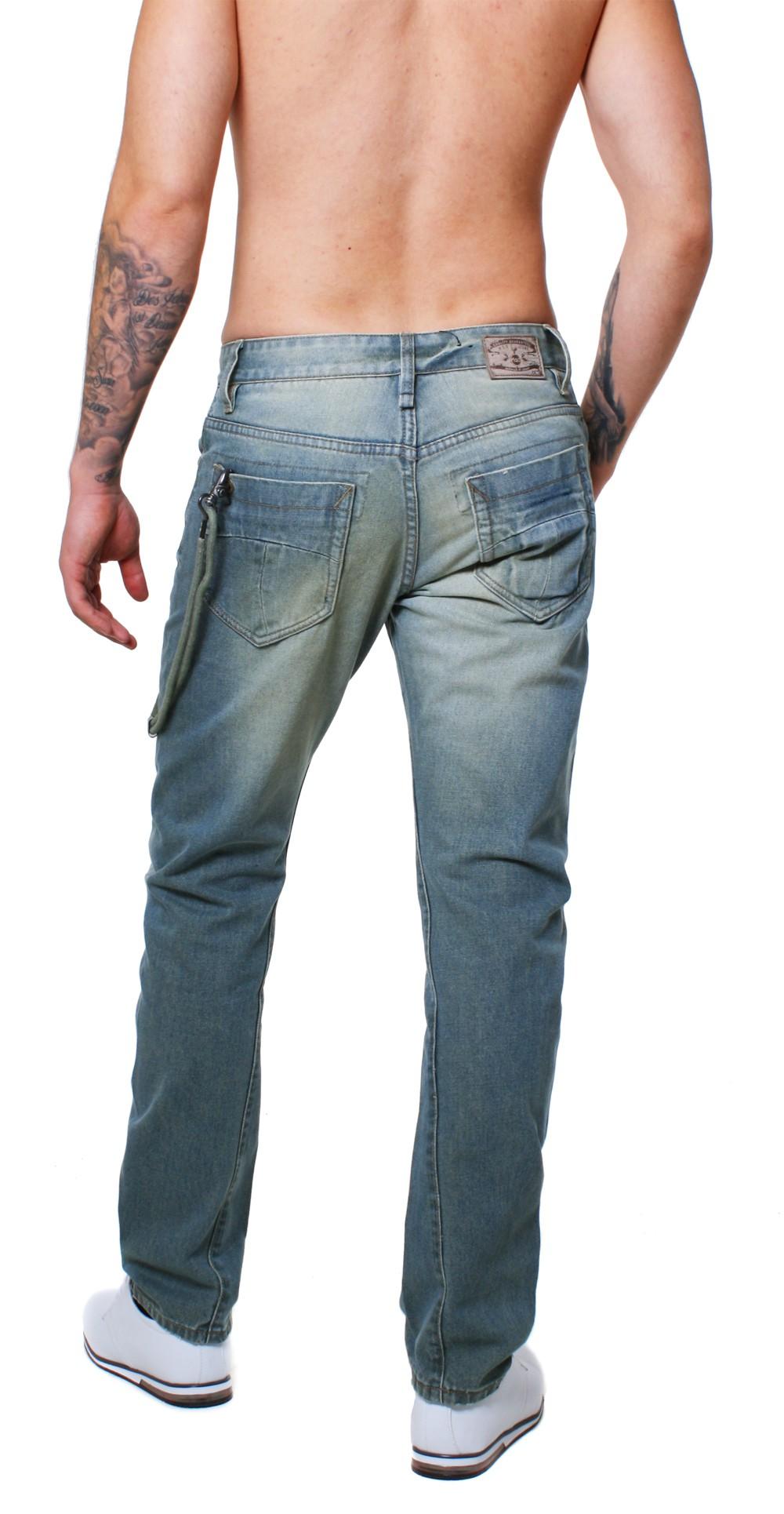 m o d herren jeans hose mod bob freezing blue blau vintage. Black Bedroom Furniture Sets. Home Design Ideas