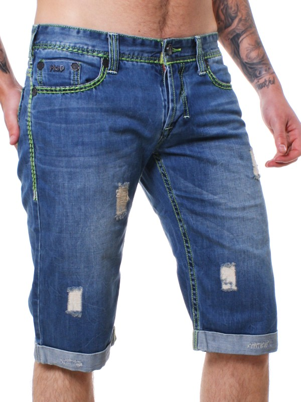 m o d herren jeans shorts hose kurz antwerp blue blau mod su13 bs103 ebay. Black Bedroom Furniture Sets. Home Design Ideas
