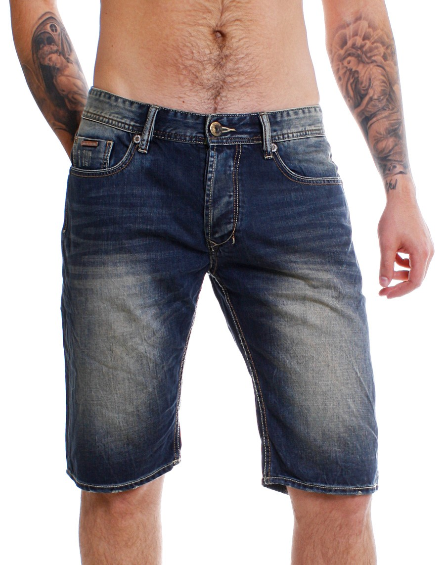 m o d miracle of denim herren jeans shorts anil bermuda. Black Bedroom Furniture Sets. Home Design Ideas