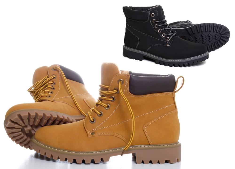 clowse mens faux suede boots boots half boots lace up shoes b337 ebay. Black Bedroom Furniture Sets. Home Design Ideas