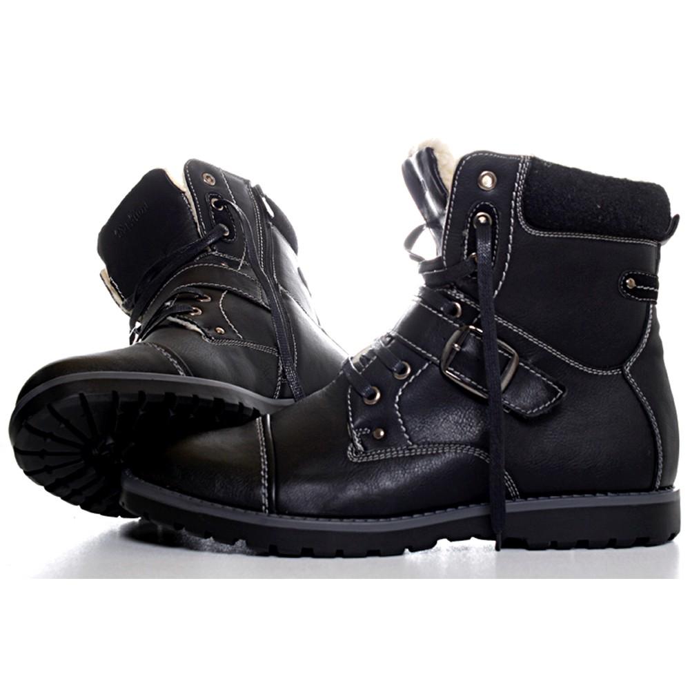 herren boots trend hoodboyz clowse kunstwildleder boots stiefel halbstiefel clowse mens faux. Black Bedroom Furniture Sets. Home Design Ideas