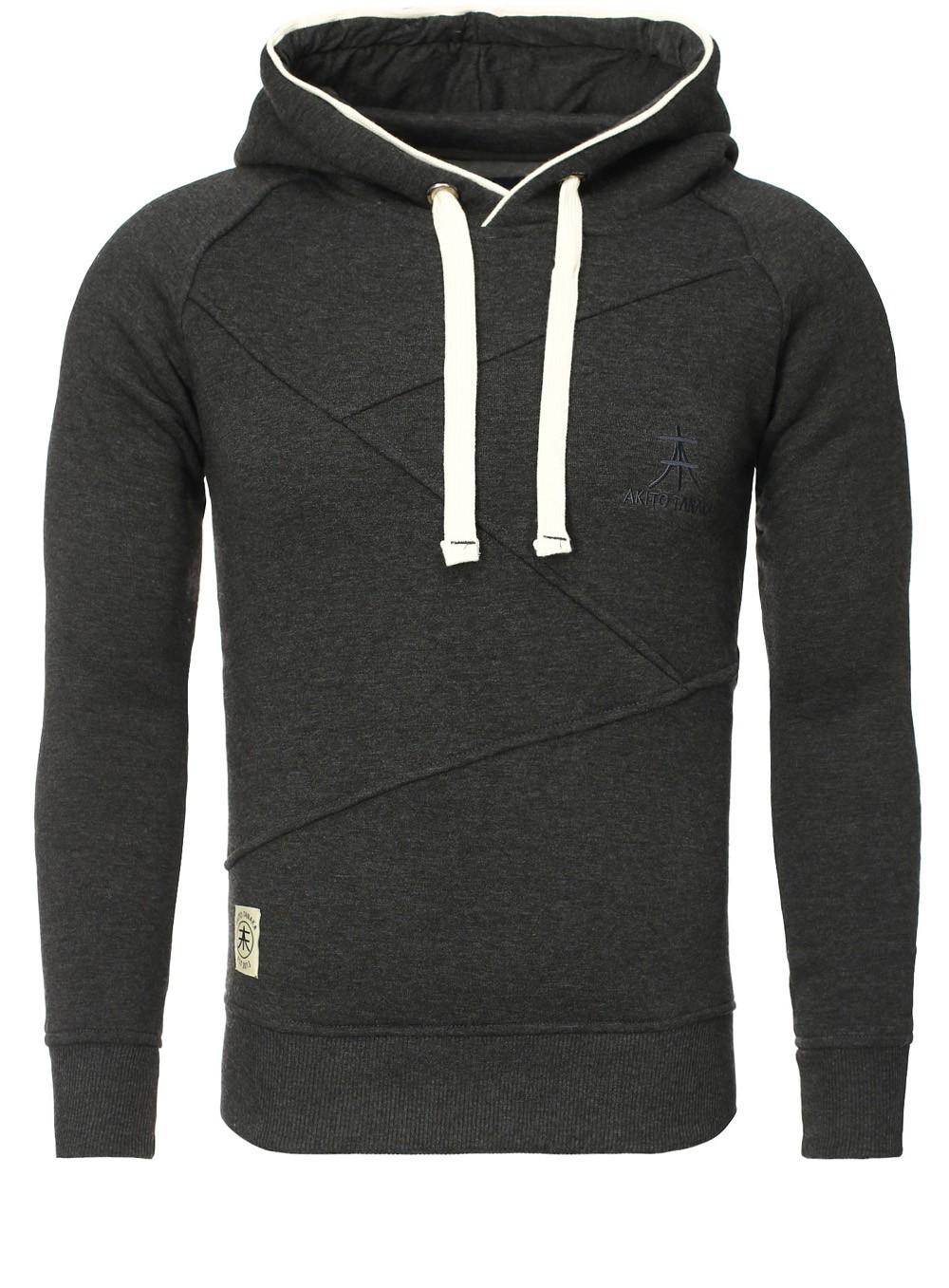 akito tanaka herren sweatshirt 18103 sweater pullover mit kapuze. Black Bedroom Furniture Sets. Home Design Ideas