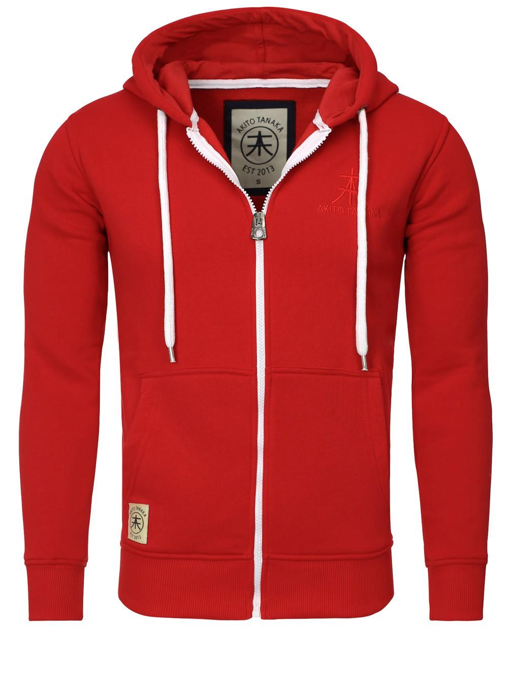 akito tanaka herren sweatjacke zip hoodie sweatshirt 18110. Black Bedroom Furniture Sets. Home Design Ideas
